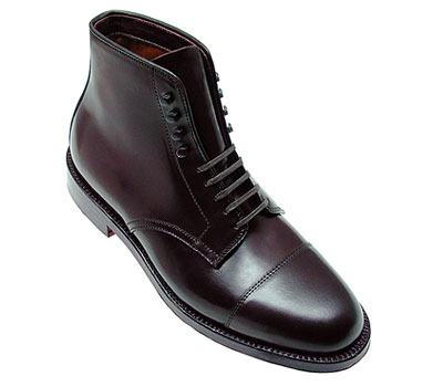 Cordovan Straight Tip Boot