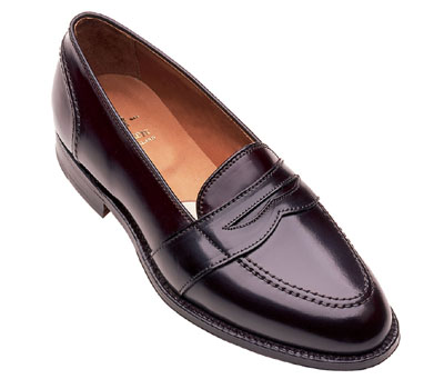 Cordovan Full Strap Slip-On