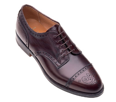 Medallion Tip Blucher Oxford