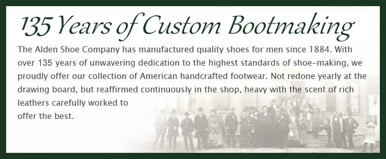 135 years of custom bootmaking