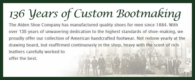 136 years of custom bootmaking